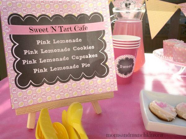 Free Pink Lemonade Party Printables plus Three Pink Lemonade #Recipes #LMDConnector