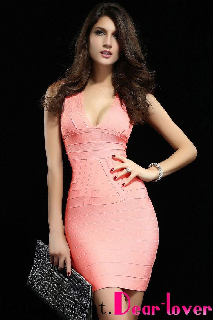 7 best VESTIDOS BANDAGE images on Pinterest | Bandage dresses ...