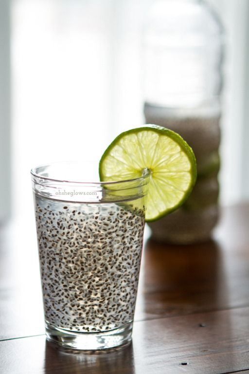Chia Fresca: A Natural Energy Drink! — Oh She Glows