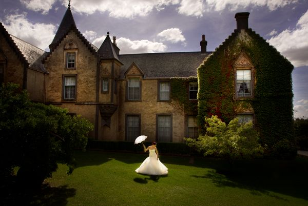 Overnewton Castle, Melbourne - This stunning venue is the perfect backdrop for your special wedding day. The private gardens and exquisite chapel are just some of the many features   sure to make your experience here one to remember. http://bit.ly/19GQaKf