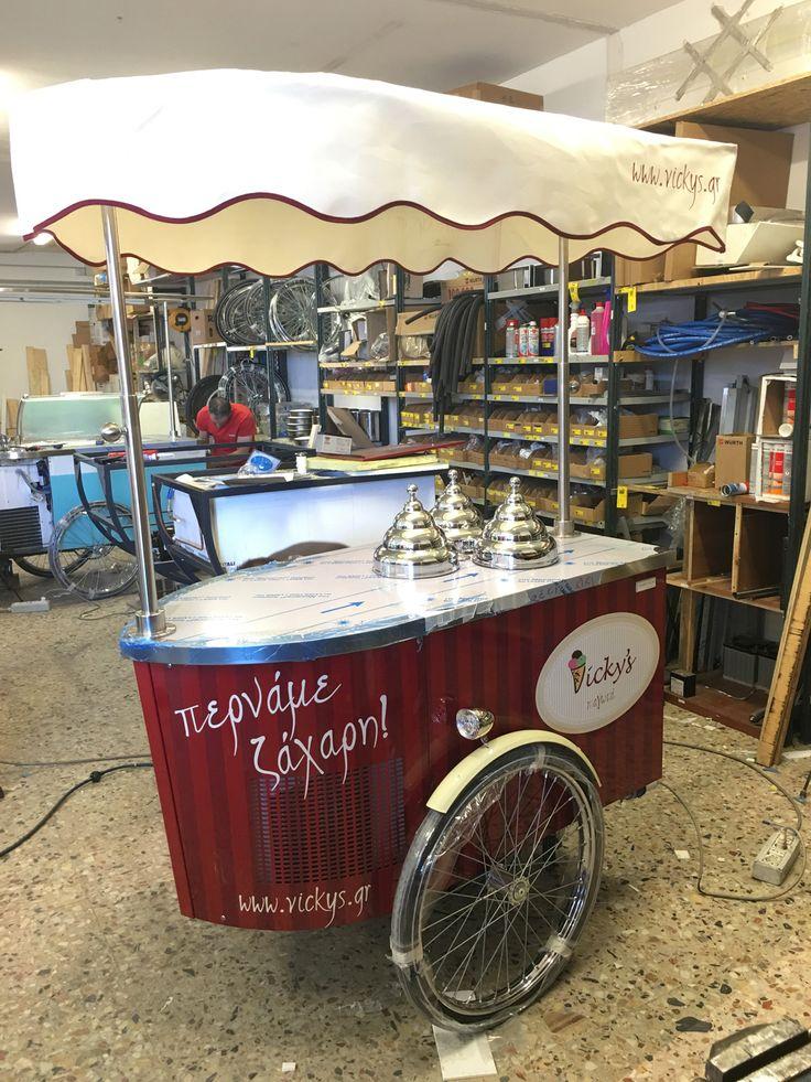 #tekneitalia #icecreamcart #gelatocart #gelato #cart #foodbusiness #foodtruck