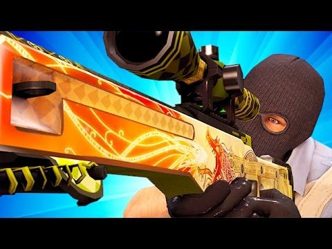 RIP DRAGON LORE! CS GO OVERWATCH HACKER! Funny Counter Strike Global Offensive VAC WALL HACKER