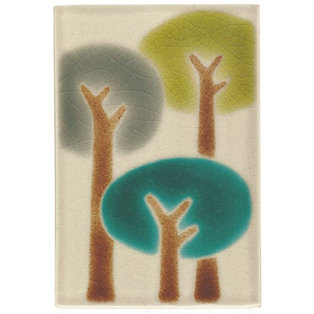 Summer Tree Tile By Xenia Taler