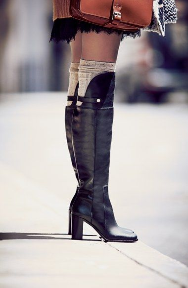 Stunning leather boot!