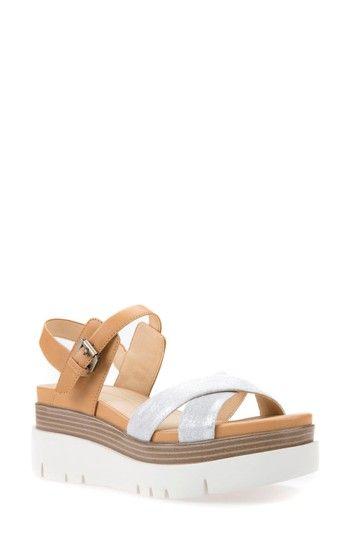 47203d29fa17 GEOX RADWA PLATFORM SANDAL.  geox  shoes