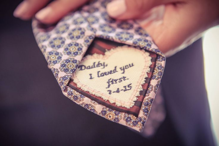Personalized Father-of-the-Bride Tie