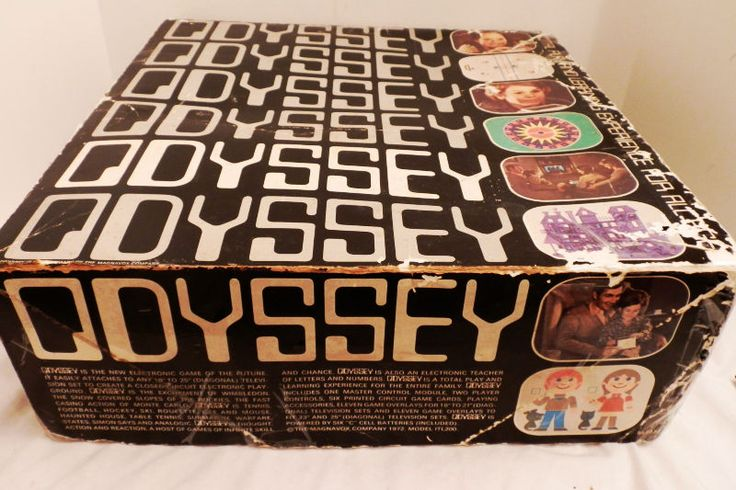 """MAGNAVOX ODYSSEY 1972 """"RENEWED"""" SER #7636101 COMPLETE WORKING  1AMOX3-B 