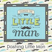 Little Man - Personalized Birthday Party Water Bottle Label Favors | BigDotOfHappiness.com