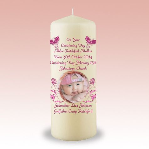 CANDLES - Beeflowers.net  Our personalized christening candles