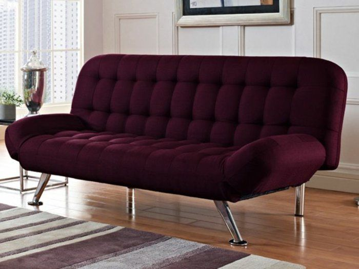 1000 id es sur le th me sofa cama clic clac sur pinterest canap s lits can - Canape convertible prune ...
