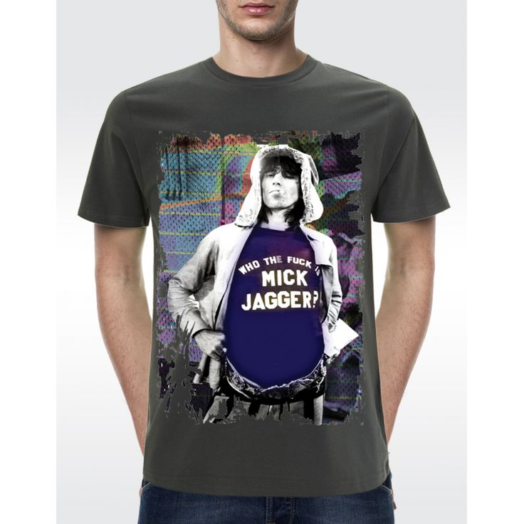 M01 KEITH RICHARDS T-shirt Men's Organic T-shirt - Climate Neutral® Available in 6 colours