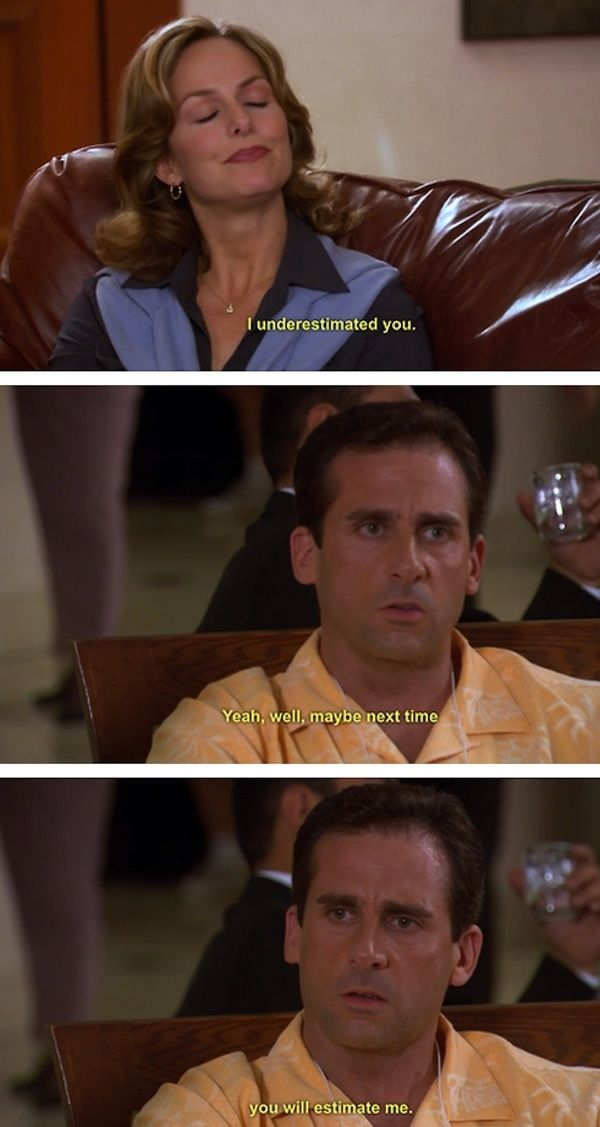 So remember, Michael was a wise, wise man.