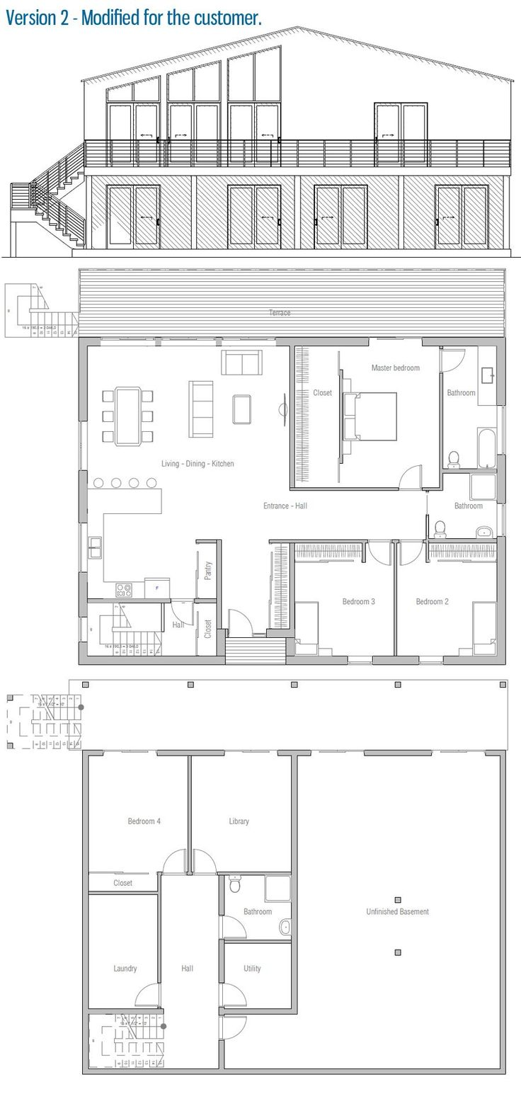 438 best house plans images on pinterest house floor plans