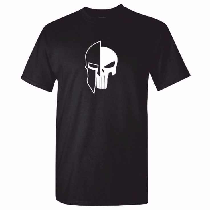 Mens SPARTAN PUNISHER T Shirt - OCR Fitness Crossfit MMA SufferFunny Tee T-SHIRT New2017 More Size and Colors-A790 #Affiliate