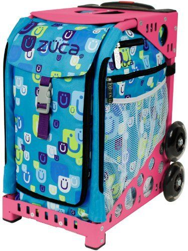 Zuca Bag Be Zappy (Pink Frame) by ZUCA. $150.00. Zippity Zuca! Zippity Day! Pull this happy bag and everything could start going your way.