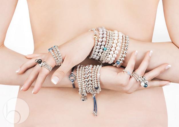 Beblue Jewellery loved sterling silver bracelets