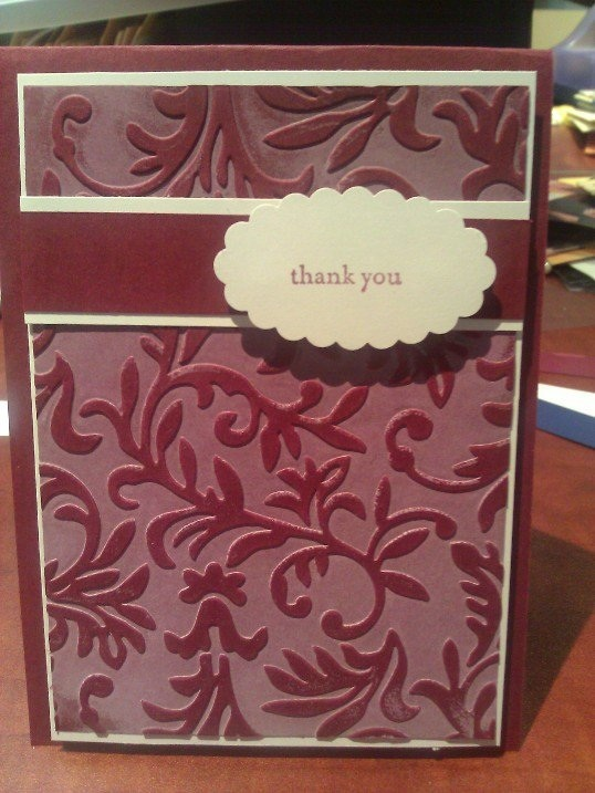The background is made use SU whisper white on an embossing folder