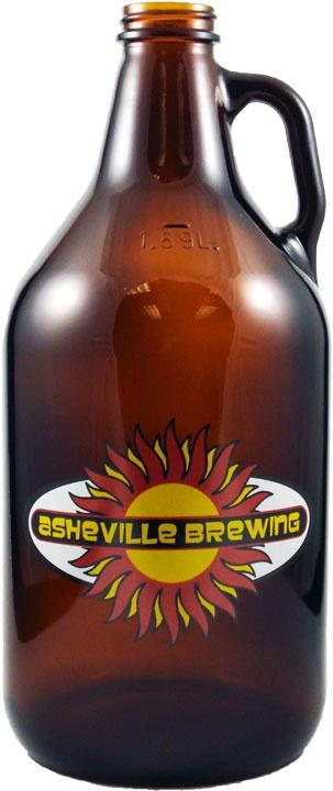 Asheville Brewing Company Growler