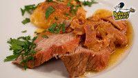 Babicovy dobroty: Telecí se sýrem gruyere a bramborami