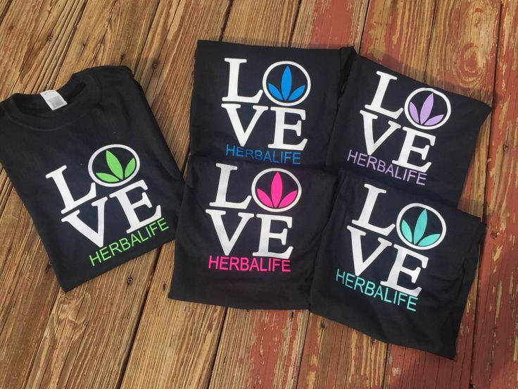 Herbalife Love Colored Tri-Leaf T-shirt- Herbalife, Herbalife coach, Herbalife 24, Herbalife nutrition by Notyourmommasvinyl on Etsy