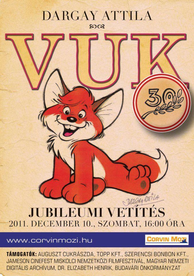 Hipp, hopp, jön Vuk! Dargay Attila legnépszerűbb rajz-játékfilmje, a Vuk! Megható története megunhatatlan. 1981 és 1989 között hazánkban közel 2,5 millióan látták és ezzel az évtized legnézettebb magyar filmje volt. Bármilyen sokszor láttuk is már korábban, újra és újra a képernyőhöz szögez minket. December 10-én alkalmunk lesz ismét széles vásznon, moziteremben megnézni a rajzfilmet, ami …