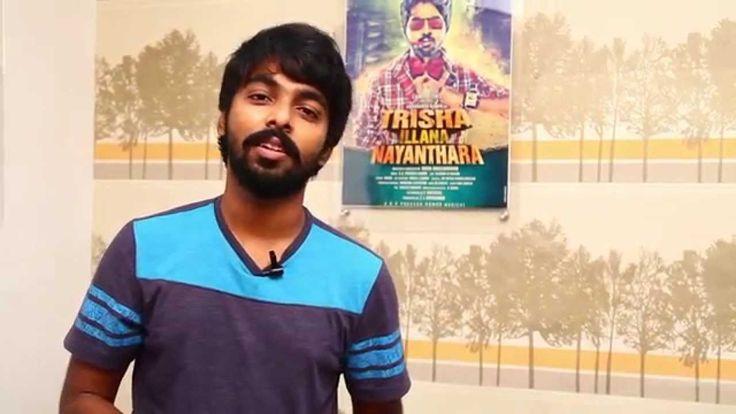GV Prakash Kumar promotes the music of Trisha Illana Nayanthara