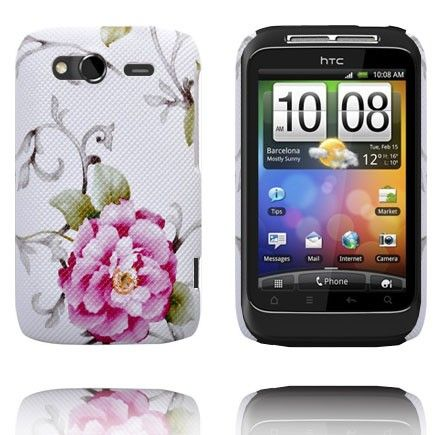Valentine (Hot Pink Rose) HTC Wildfire S Cover