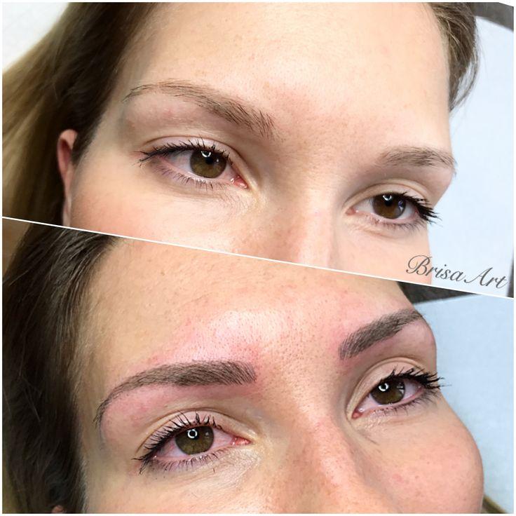derma_art natural  brows • microblading • www.brisaart.hu