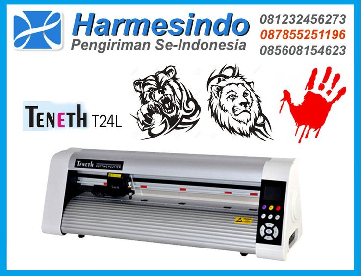 Mesin Cutting Sticker Teneth T24L