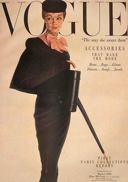 Jean Patchett, Vogue cover March 1950
