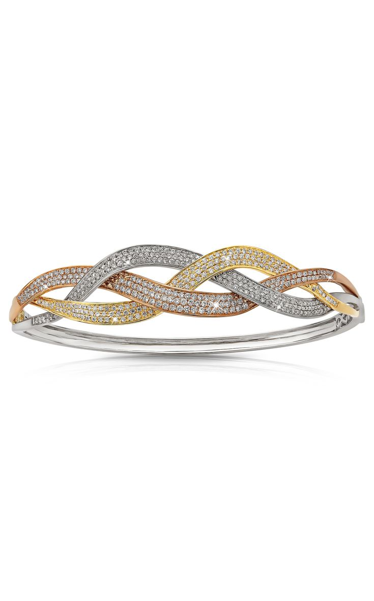 Tricolor Anniversary Bangle #CelebrateLialiCelebrateLove