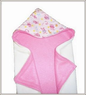 Sewing Patterns for Girls Dresses and Skirts: Abby's Reversible Hooded Baby Blanket (Free Sewing Pattern)