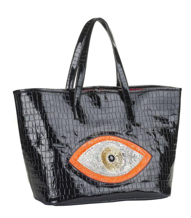 Evil Eye Tote Bag | Eye Stuff | Pinterest