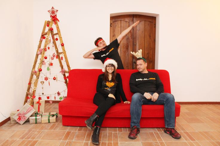 Christmas fun at the office - Take 1