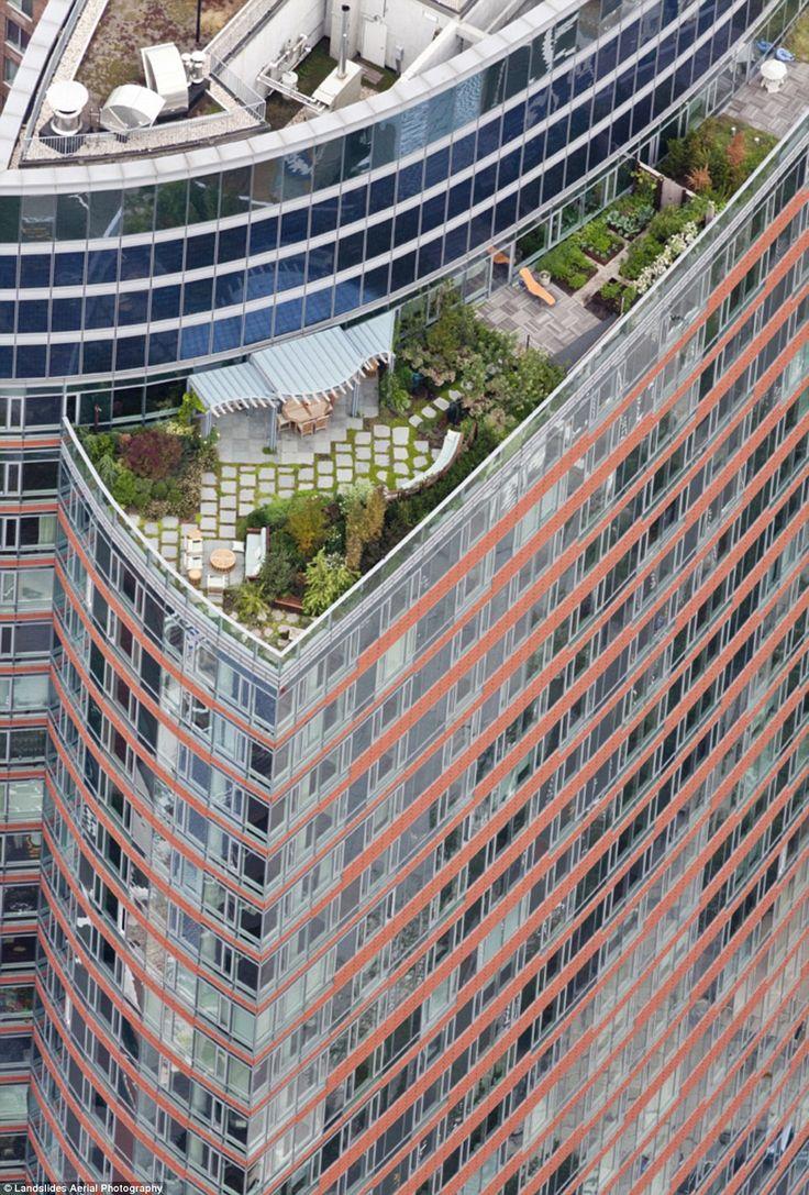 143 Best Roof Top Garden Images On Pinterest Rooftop