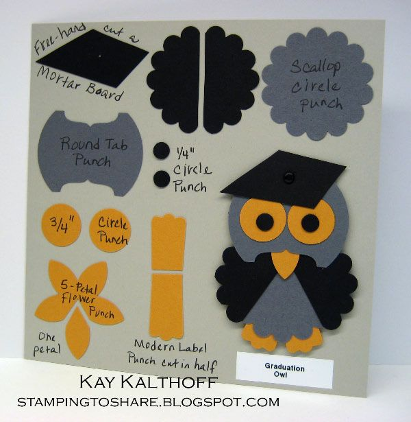 Stampin up punch art