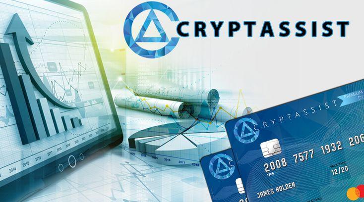 "ICO — Cryptassist ""Debit Card"" Benefits Debit card"