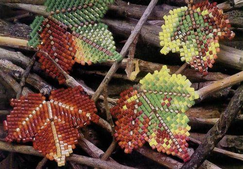 Autumn Leaves of bead