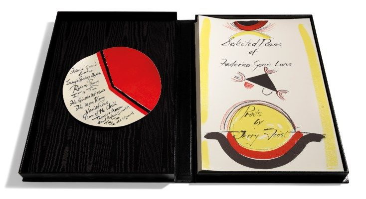TERRY FROST (1915-2003) | Selected Poems of Federico Garcia Lorca | 1980s, Prints & Multiples | Christie's
