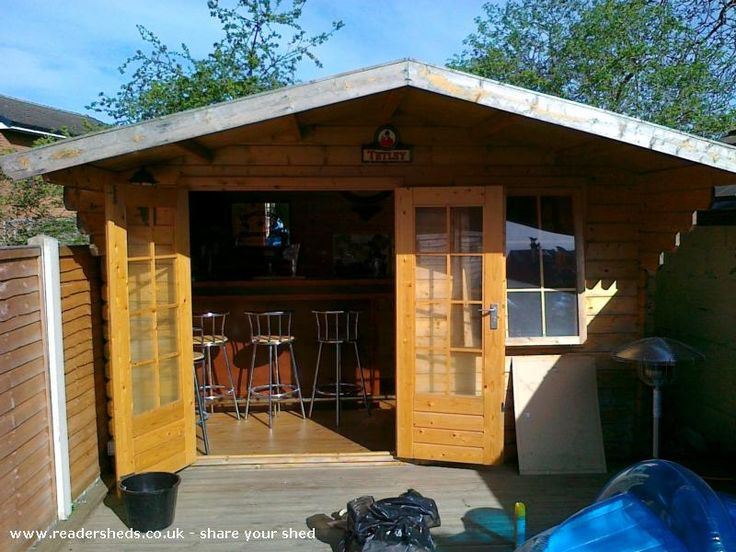 Vic tim is an entrant for shed of the year 2015 via for Garden shed pub