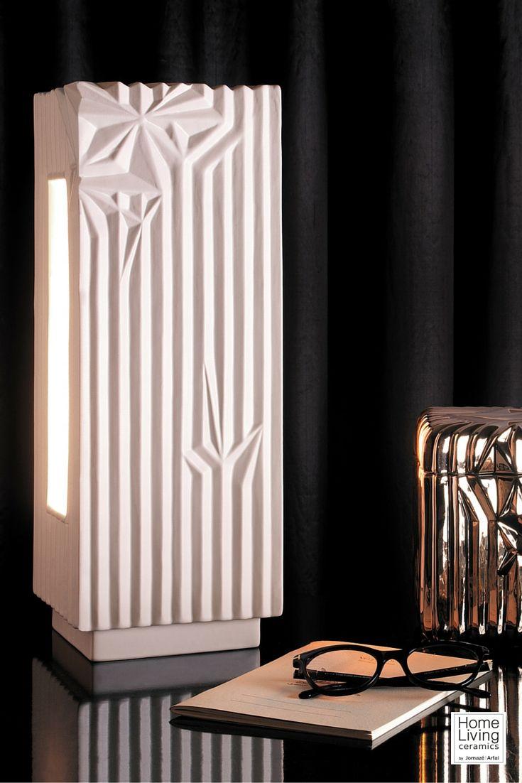 Home Living Ceramics 2016 | #ceramics #luxury #design #lamp #box