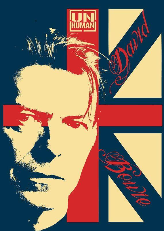 Αποτέλεσμα εικόνας για david bowie poster
