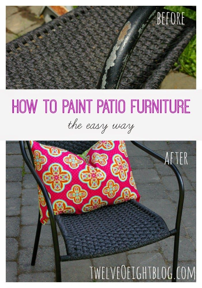 Best 25 Painted Patio Furniture Ideas On Pinterest Painting Patio Furniture Chair Tips For