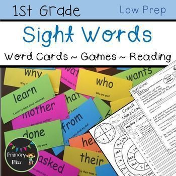 This comprehensive 800 page sight word (high frequency word) program took several years to fully develop and is UNLIKE any other sight word program! Your students will have so much fun interacting with each other as they engage in a variety of fun and int