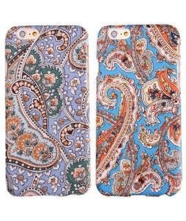 Arabesk textiel patroon hard case iPhone 6 hoesje. Een unieke arabesk look geven door een iPhone 6 hoesje? Het retro design samen met het gevoel van de case zal u samen niet kunnen weerstaan.  Beschikbaar in meerdere kleuren.