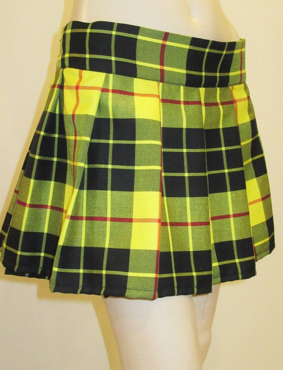 ~ McLeod of Lewis Plaid Dance Fashion Skirts~ ITEM ...
