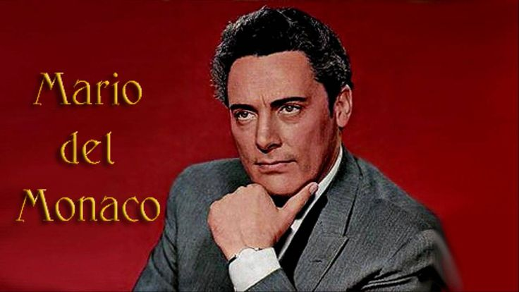 "MARIO DEL MONACO SINGS  "" VURRIA """