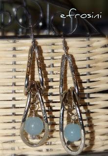 Earrings jade