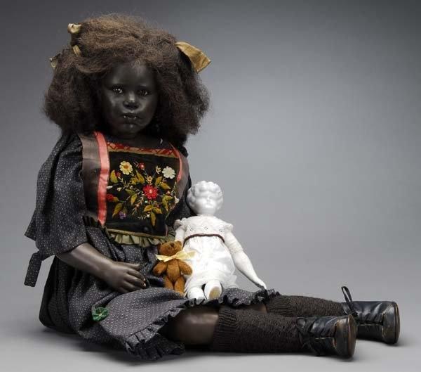 Original Rotraut Schrott Cernit Doll : Lot 1038 Bid starts at $ 1000.00- I love her!