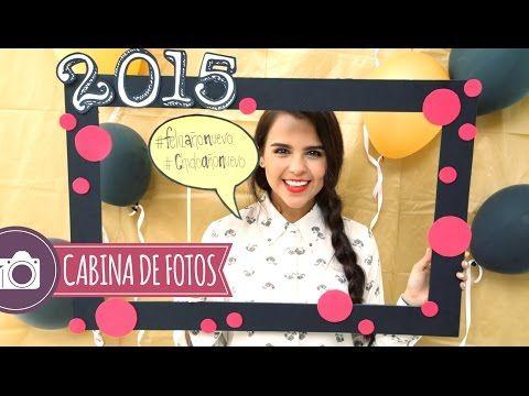 HAZ TU PROPIA CABINA DE FOTOS PARA AÑO NUEVO ♥ - Yuya - YouTube